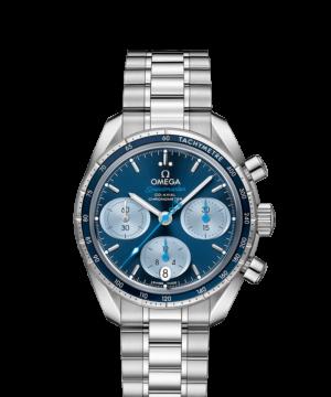 Omega 超霸38毫米 同軸擒縱38毫米天文台計時腕錶